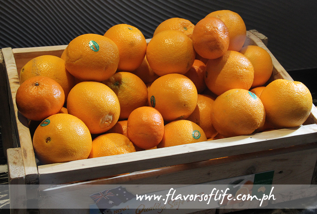 Australian oranges are now available in Manila