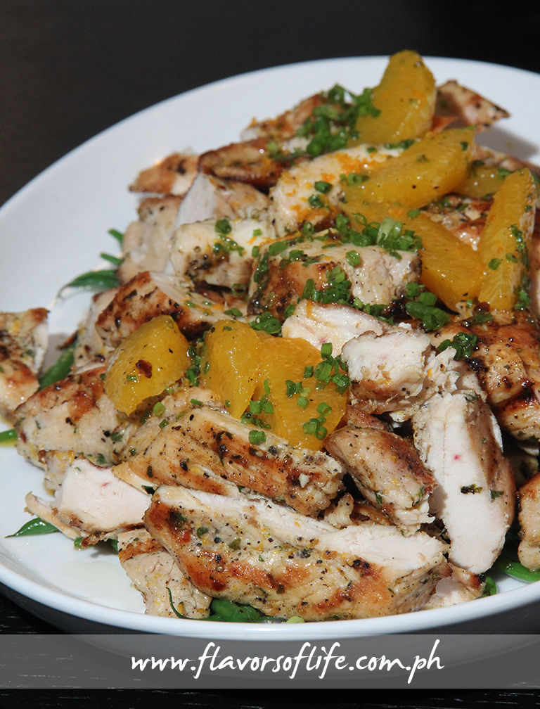 Fely Irvine's Grilled Chicken with Honey and Orange Sauce