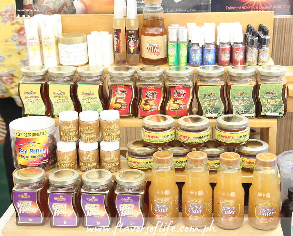Queen B honey products