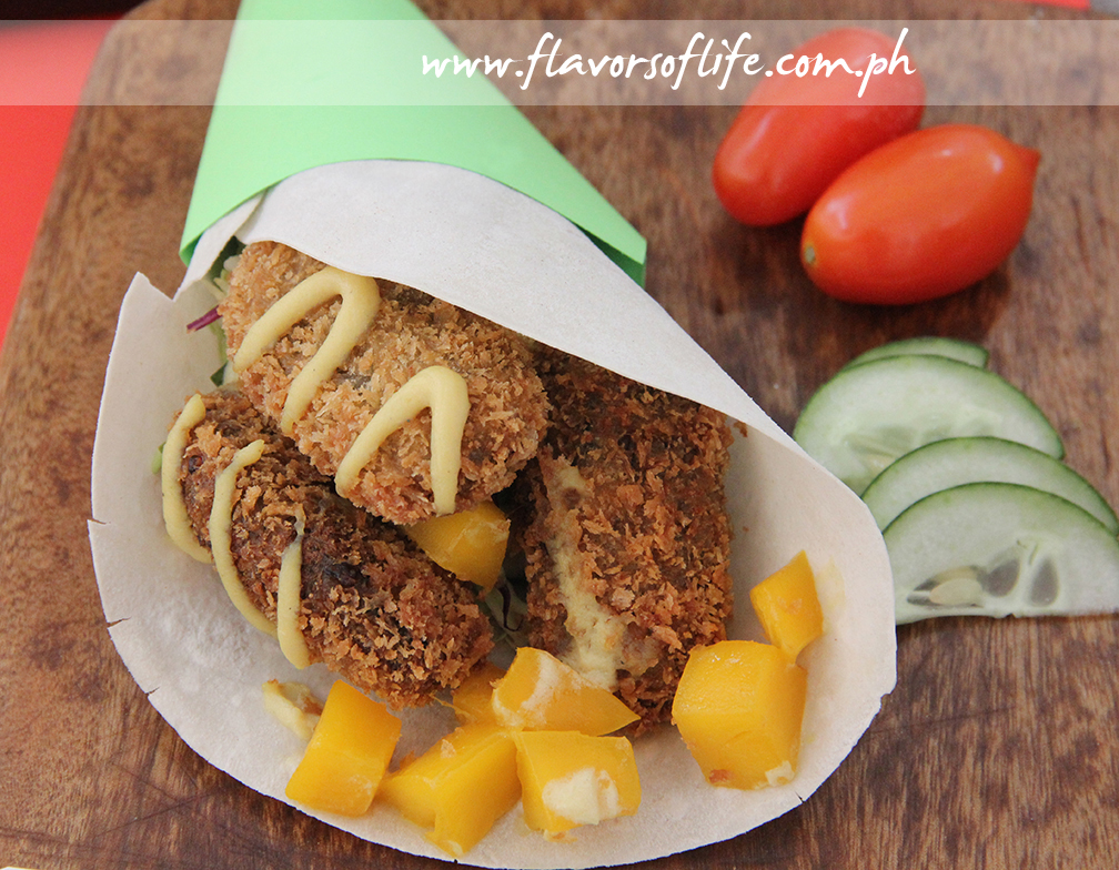 The Vegetarian Kitchen's 'Breaded Tofu Fish Wrap with Mangoes and Eggless Mayonnaise