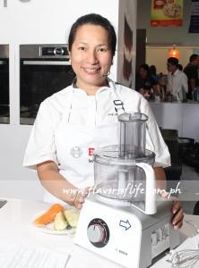 Chef Jill Sandique