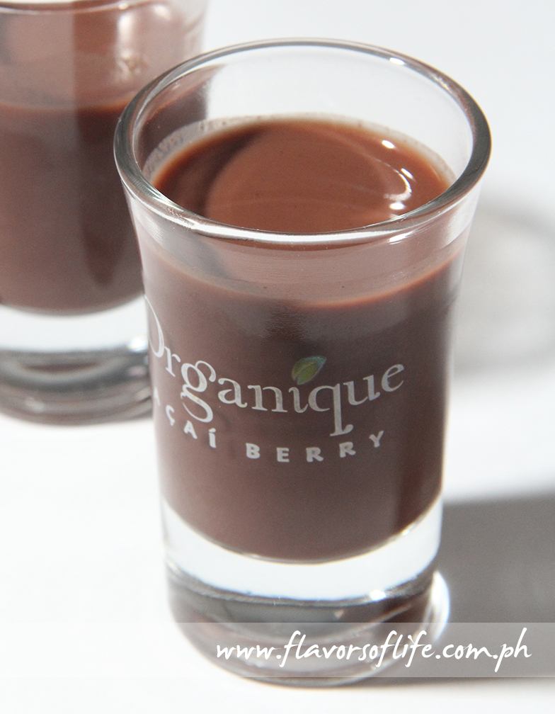 A shot of Organique Acai every day keeps the doctor away