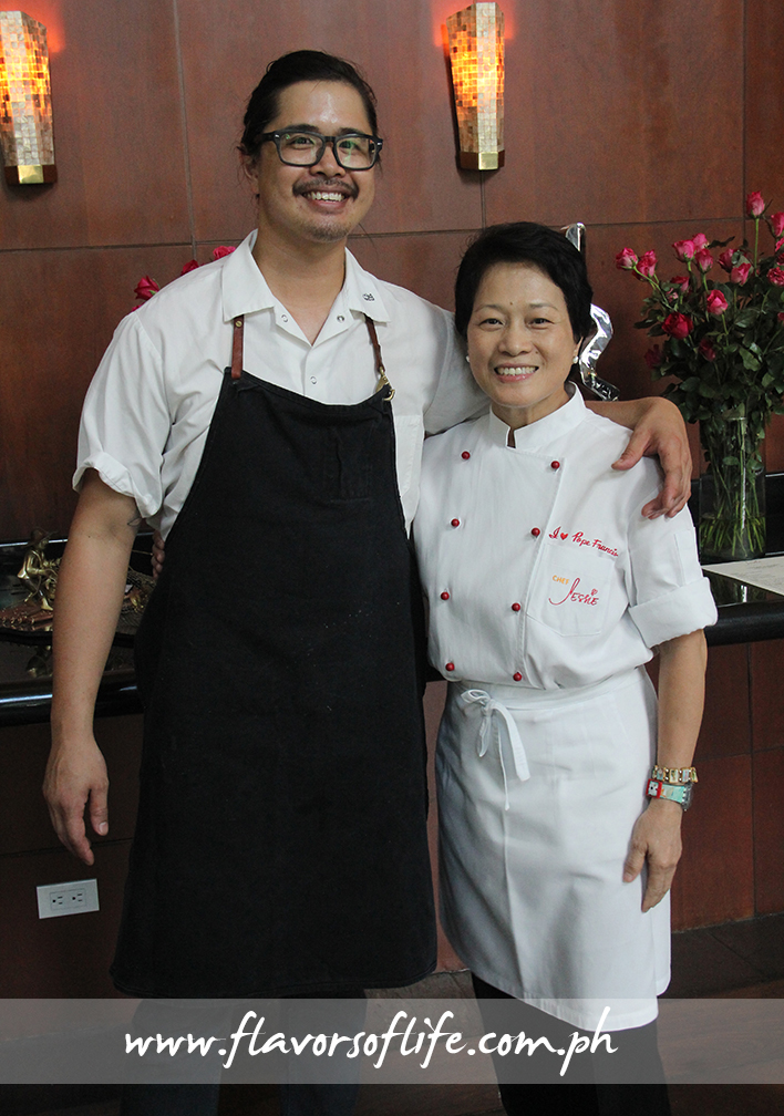 Chef Jeff Claudio and cousin Chef Jessie Sincioco