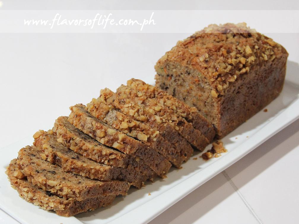Chef Jill Sandique made Whole Wheat Zucchini and Carrot Bread...