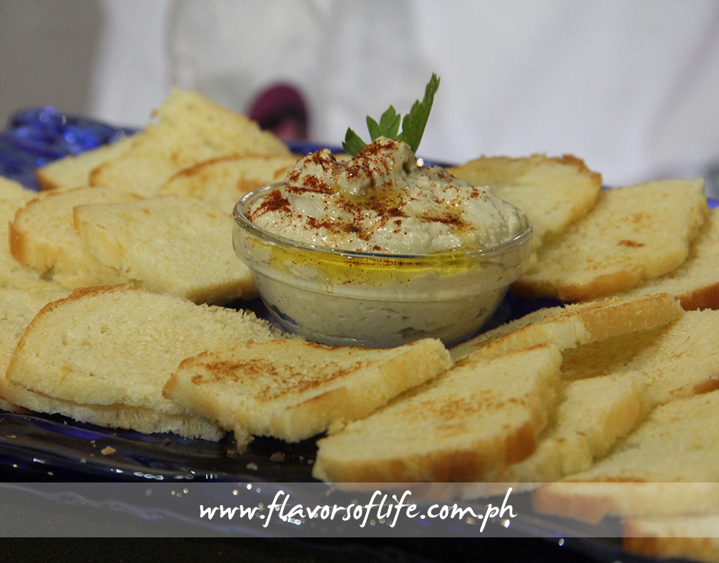 Chef Kim Castillo's Edamame Hummus
