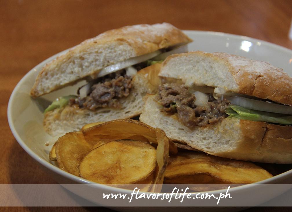 Roast Beef N' Gravy Sandwich