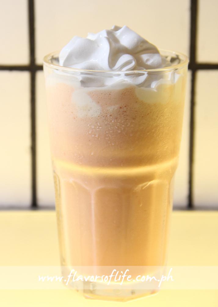 White Choco Cherry Milkshake