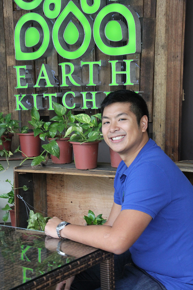 Earth Kitchen, which recently opened its second branch at Bonifacio High Street Central, serves light, healthy and organic food