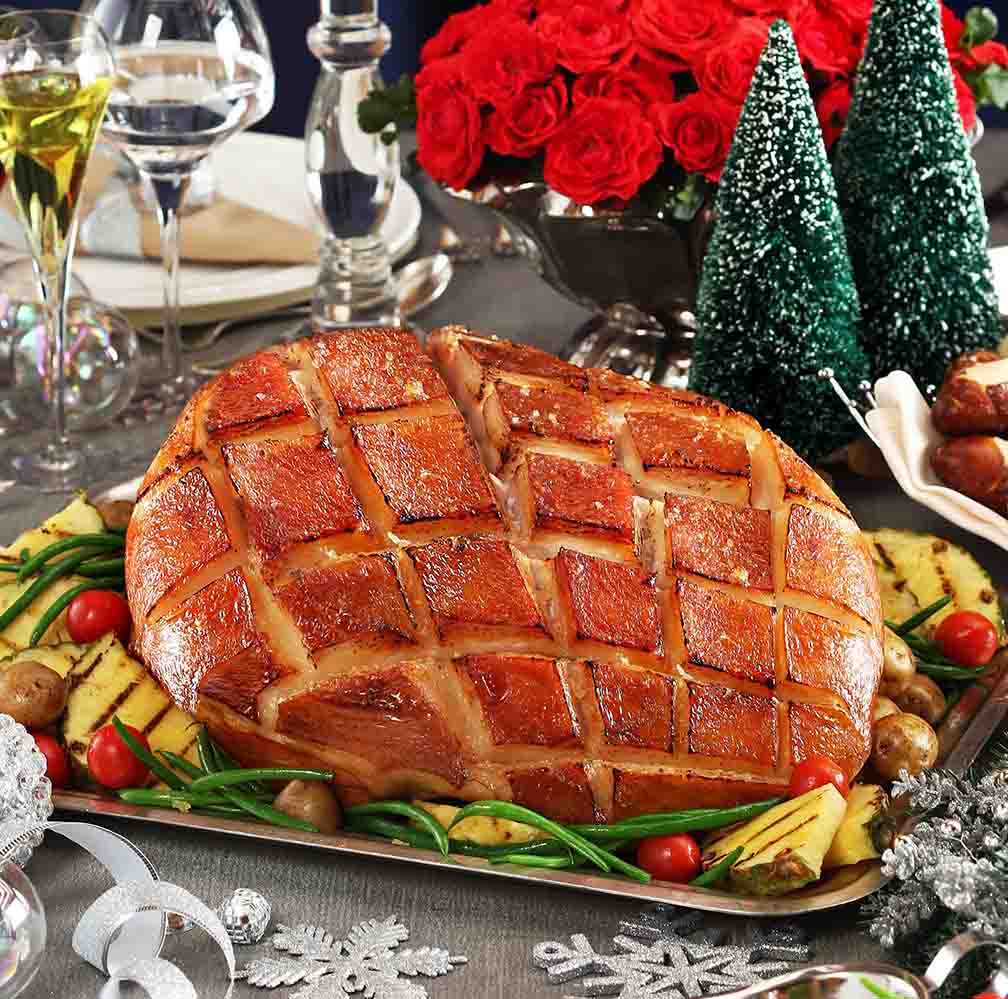 U.S. Virginia Christmas Ham (Diamond Hotel)