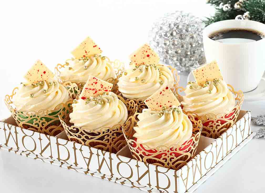 Diamond Hotel's Christmas Cupcakes