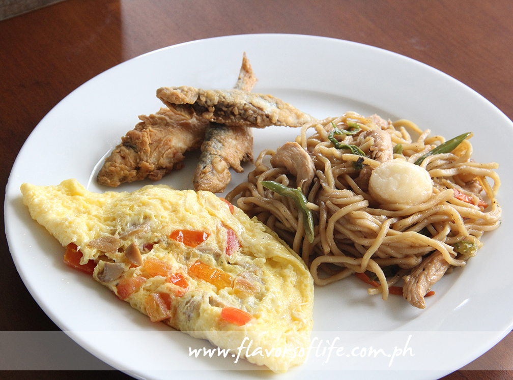 Have a hearty breakfast from the Sisterfields buffet the morning after