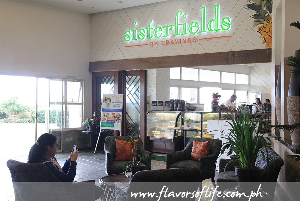 Sisterfields by Cravings, the all-day dining restaurant at the lobby level of Summit Ridge
