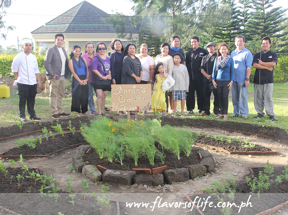 Go outdoors and visit the herb garden of Cravings and Center for Culinary Arts (CCA) Manila founder Annie Guerrero