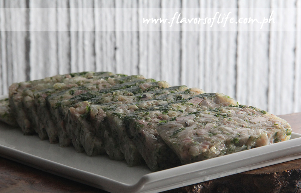 Pork Trotter and Parsley Terrine
