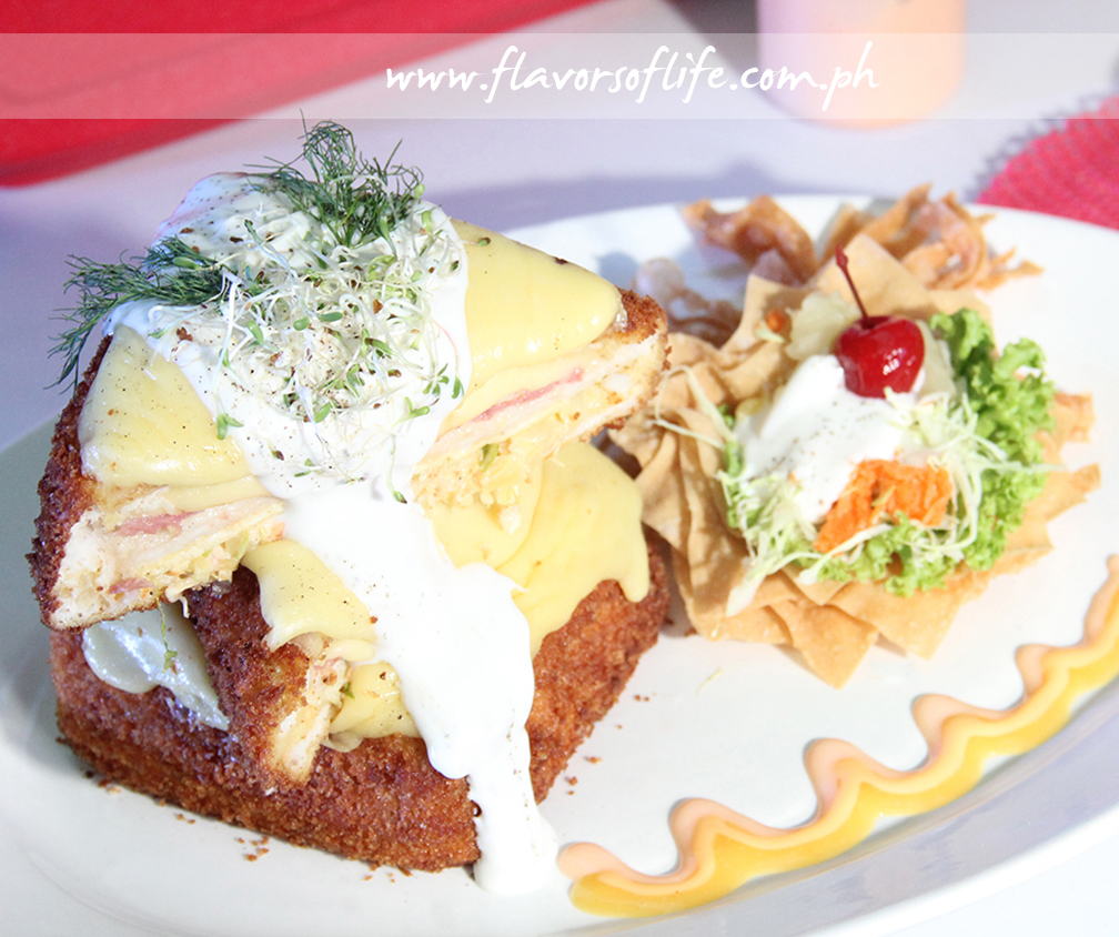 Jose Nestor Guevara II's 'Tonkapay Hawaiian Fried Clubhouse Sandwich'