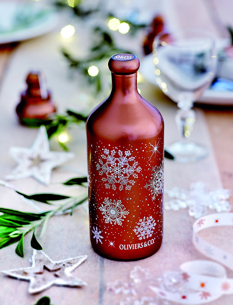This Christmas Olive Oil forms part of the Oliviers&Co. 2015 Christmas Collection