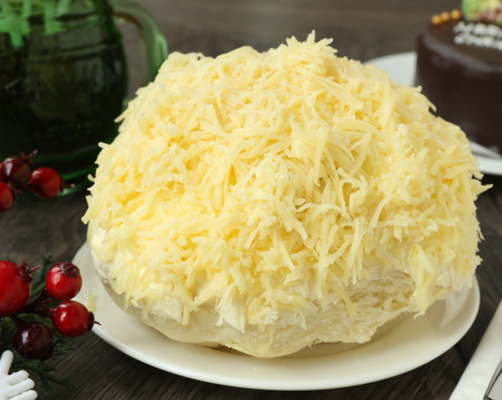 Oversized Ensaymada of Richmonde Hotel Ortigas