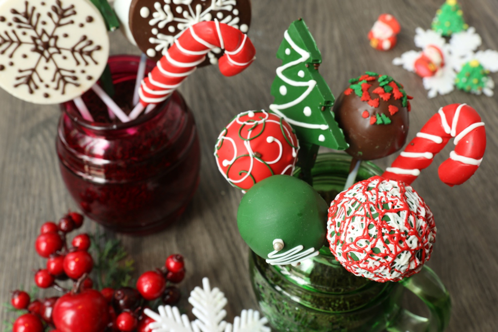 Christmas Chocolate Lollipops for charity (Richmonde Hotel Ortigas)