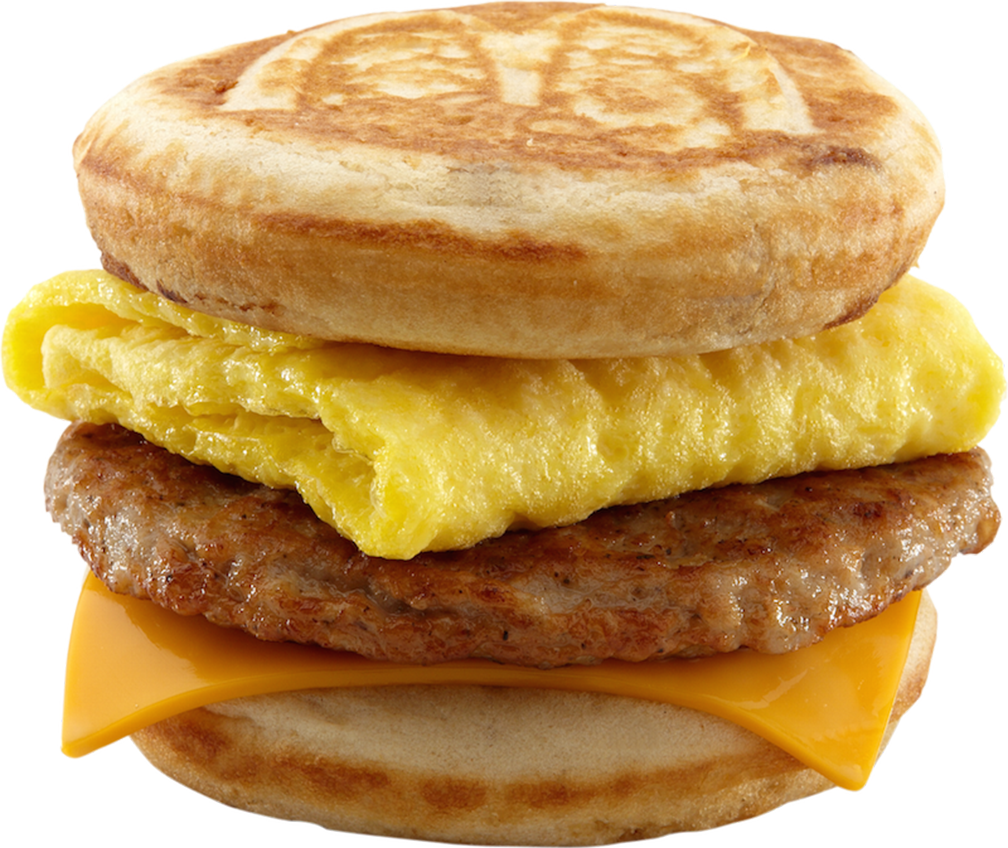 Sausage, Egg and Cheese McGriddles