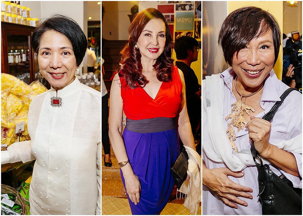 Ditta Sandico Ong, Cory Quirino and 'Mama' Renee Salud