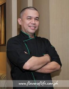 Executive chef Arnold Gozon of Terraz Bistro & Meetings