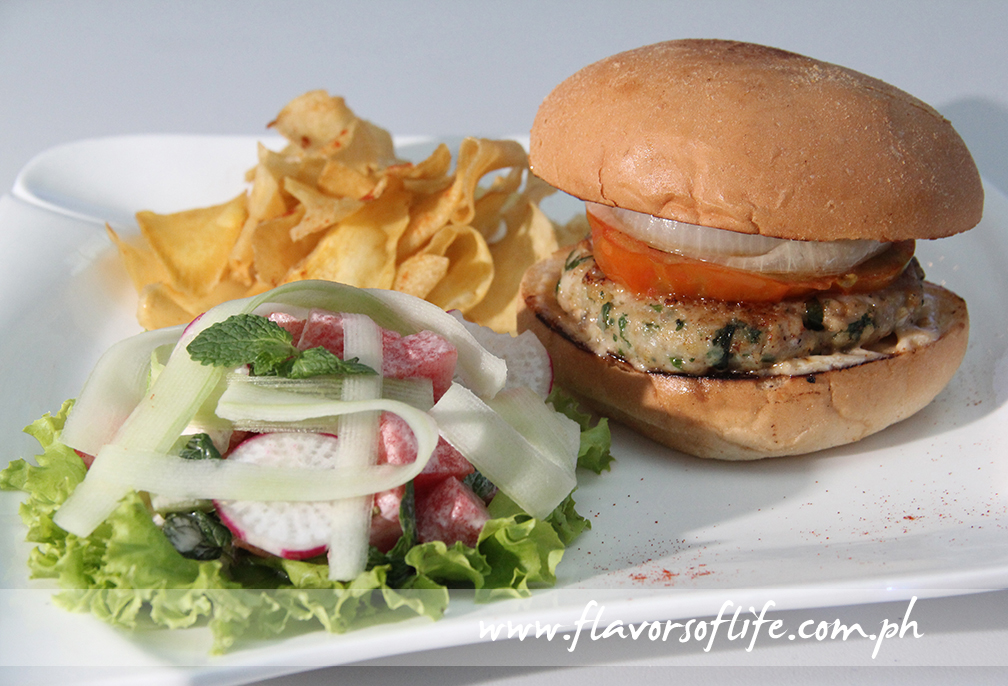 Chef Bryan Gorgona's 'Kufta Chicken Sandwich'