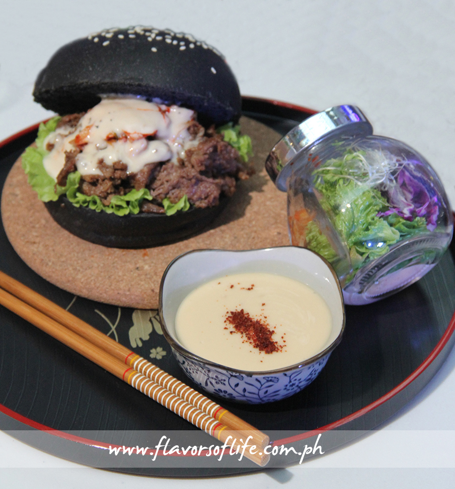 Chef Demerlito Tulaylay's 'Bulgogi Steak Sandwich and Kim Caesar Salad'