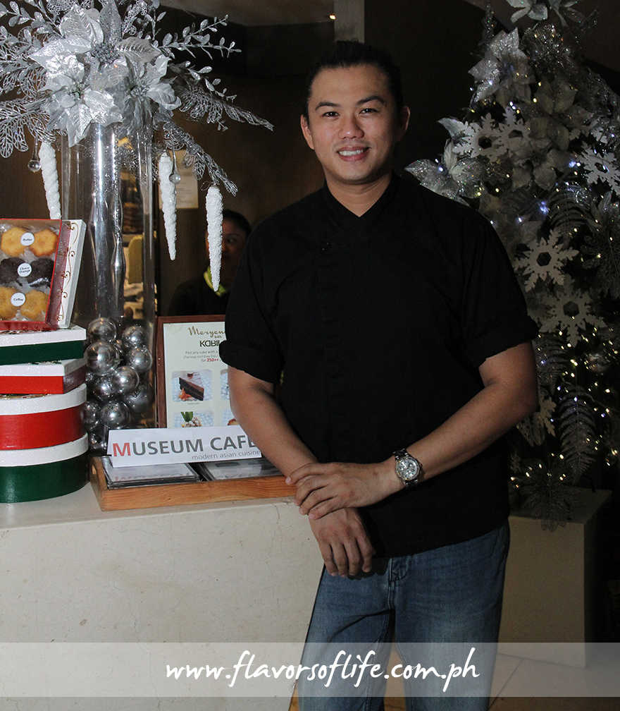 Chef Kalel Chan, corporate chef of Raintree Restaurants, created the dishes that form part of M Cafe and Kabila's 'Christmas Salo-Salo Packages'