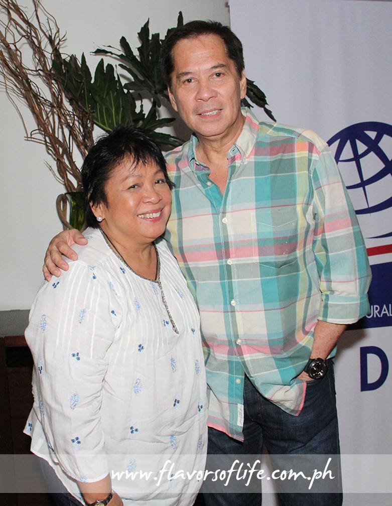 Chefs Myrna Segismundo and Sandy Daza