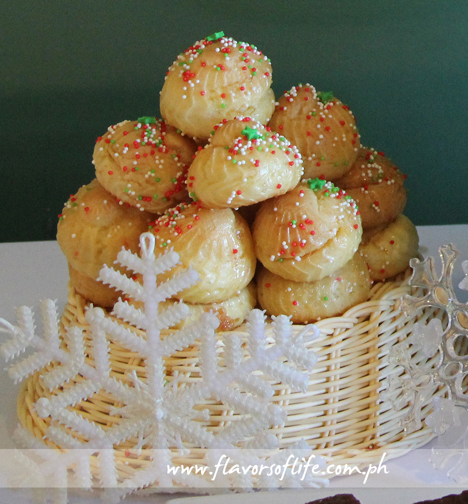 Cream Puffs or Choux Pastry