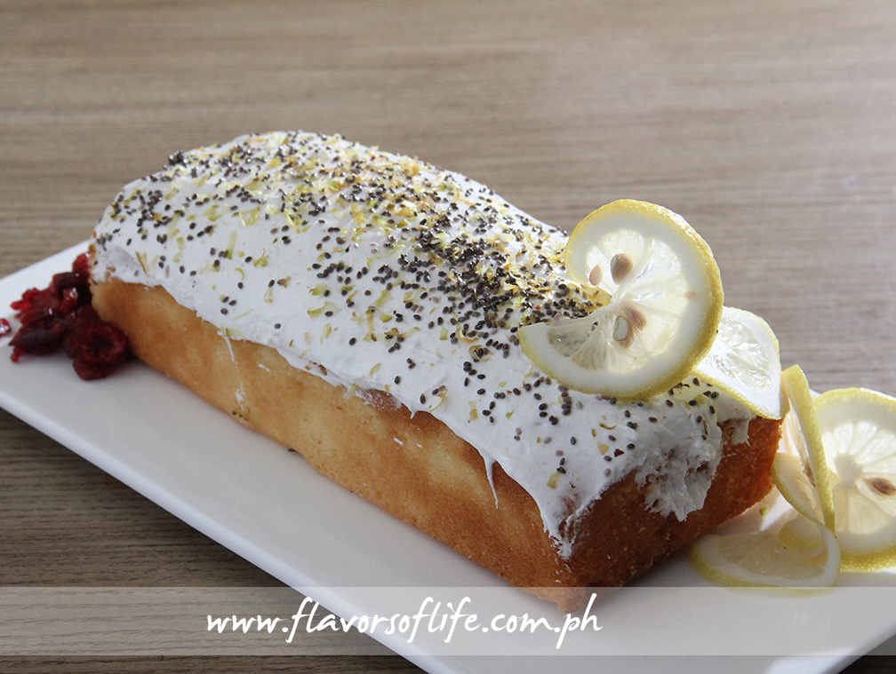 Lemon Tres Leche Pound Cake with Cream Cheese Frosting