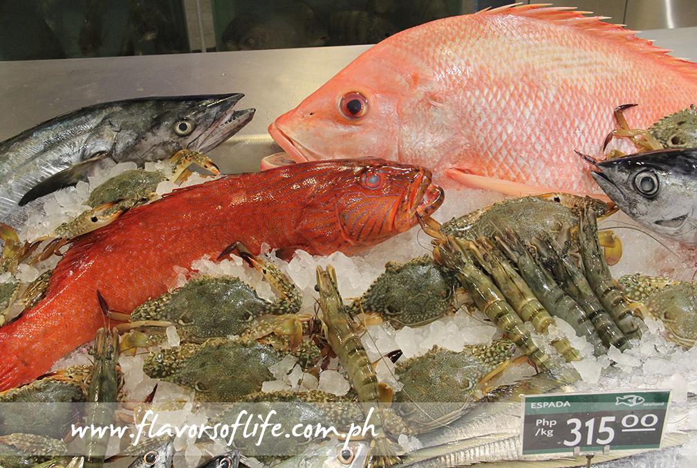 Premium fresh seafood