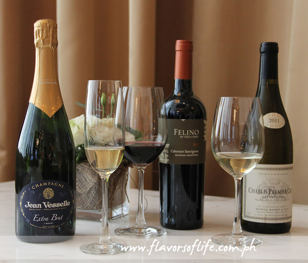Various Champagnes to enjoy with your brunch