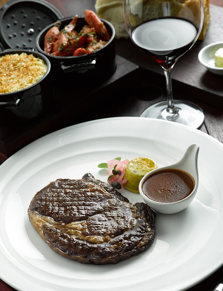 Cru STeakhouse specializes in premium gourmet steaks