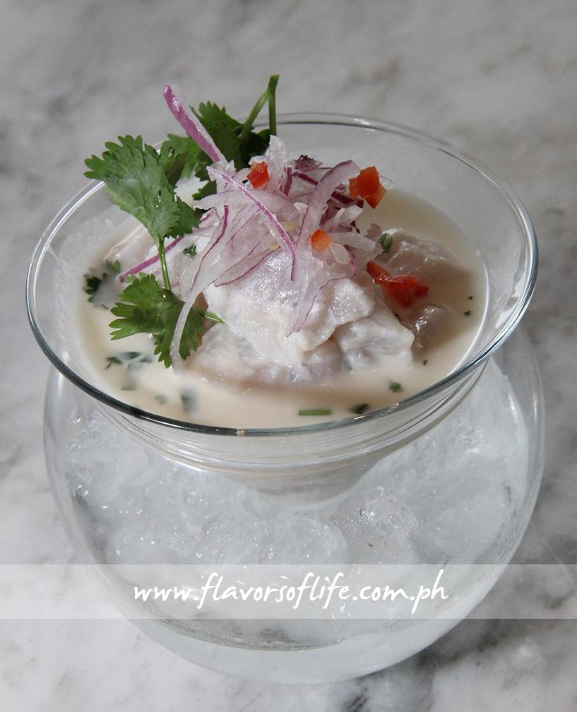 Parrotfish Ceviche Leche de Tigre Peruvian Style