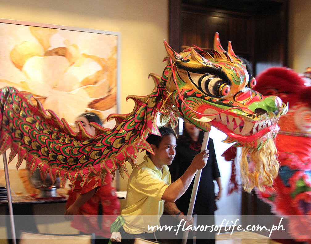 Dragon dance to usher in the Year of the Fire Monkey