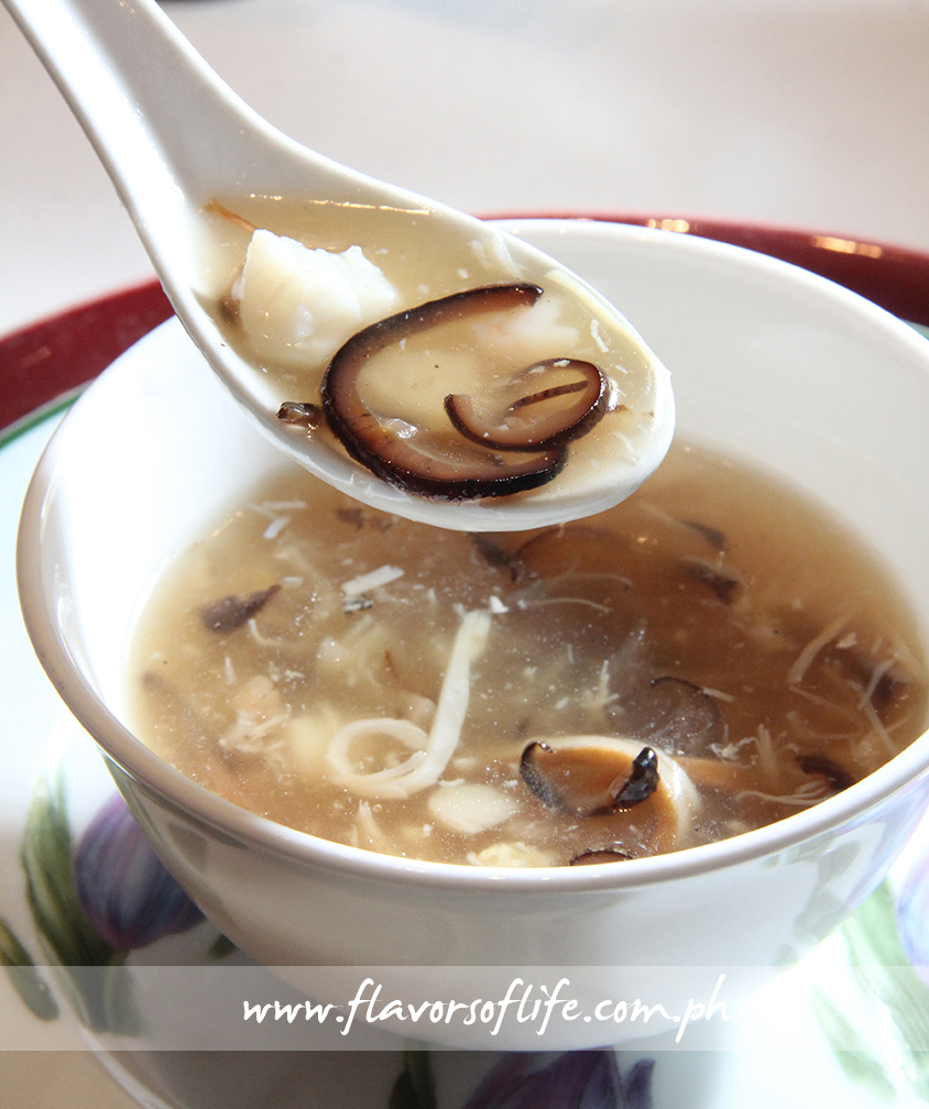 Japanese Conpoy Soup with Abalone Shell