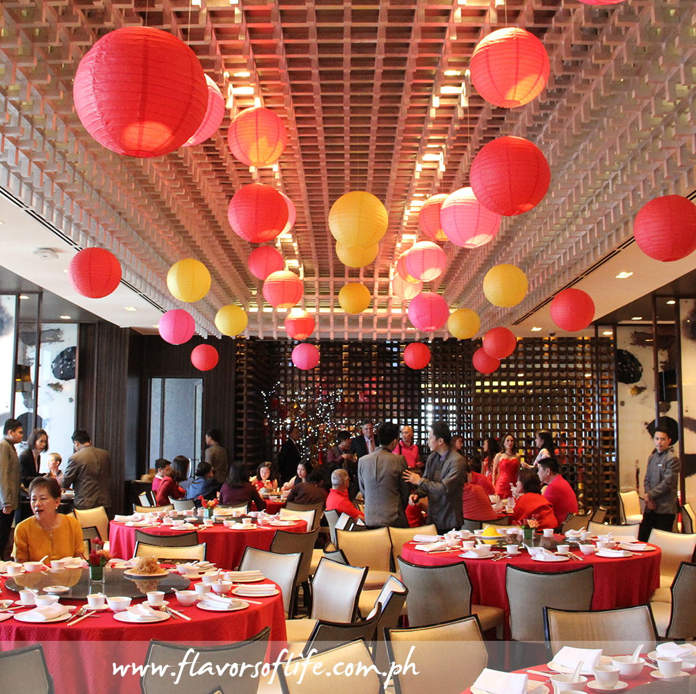 Marco Polo Ortigas' Lung Hin Chinese restaurant