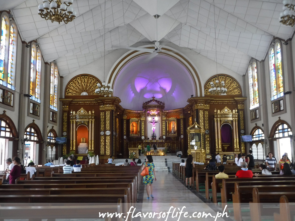 Inside St. John the Baptist Parish