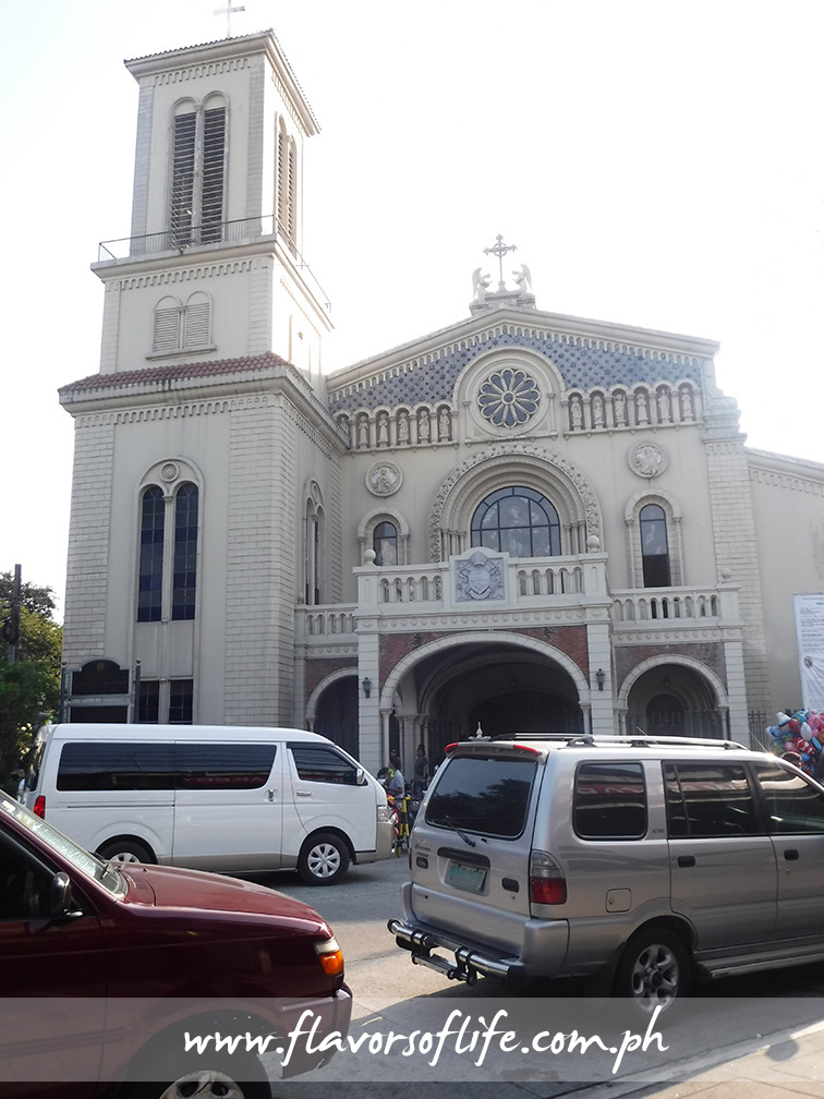 The Immaculate Conception Cathedral in Cubao, Quezon City