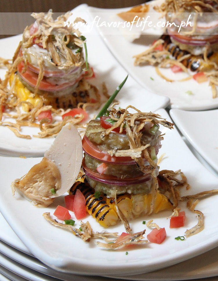 Eggplant Salad by Glenda Barretto