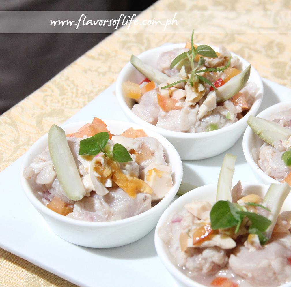 Kinilaw by Chef Myrna Segismundo