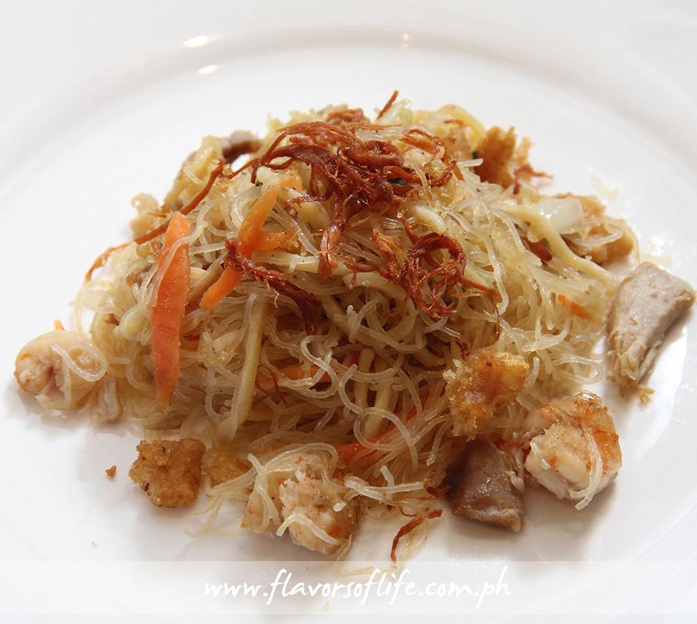 Pancit Langlang by Chef Sandy Daza