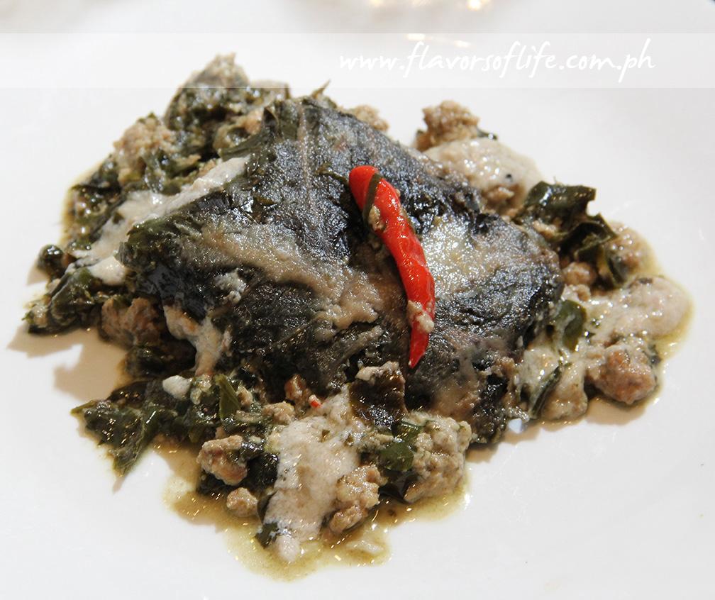 Pinangat by Chef Sandy Daza