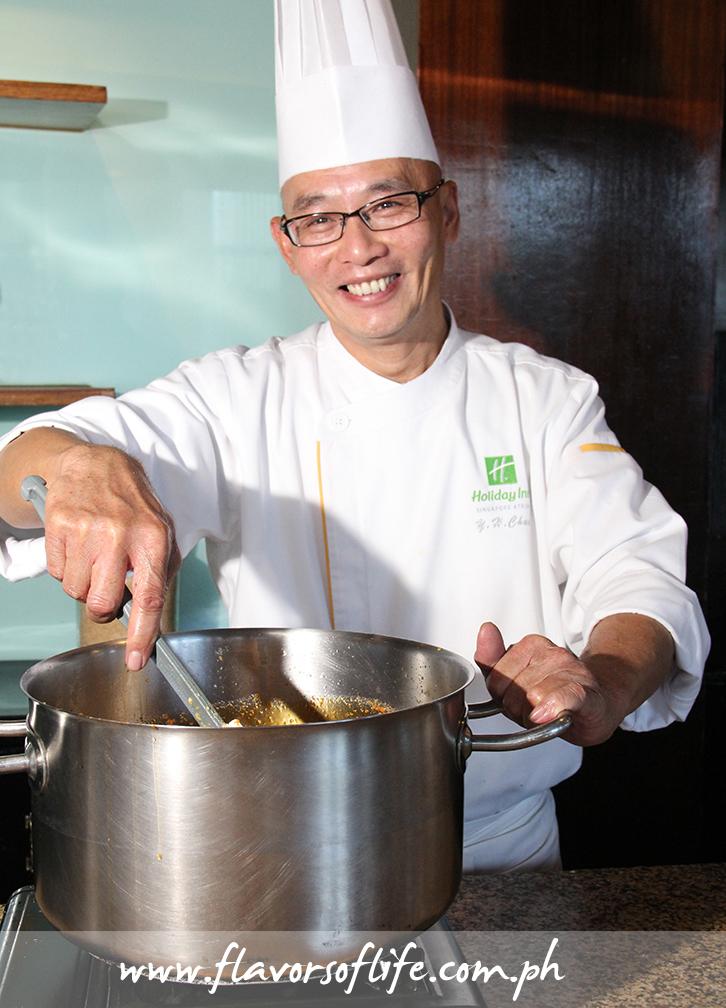 Singaporean guest chef Chua Yew Hock