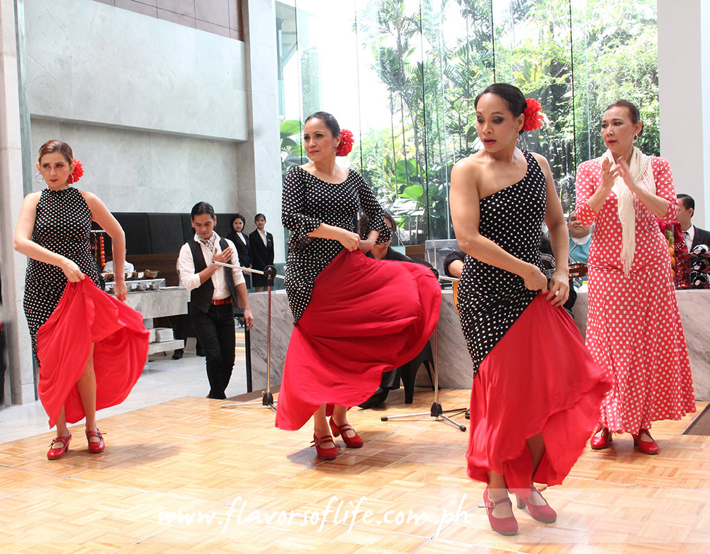 A flamenco dance number from the Fundacion Centro Flamenco on opening day