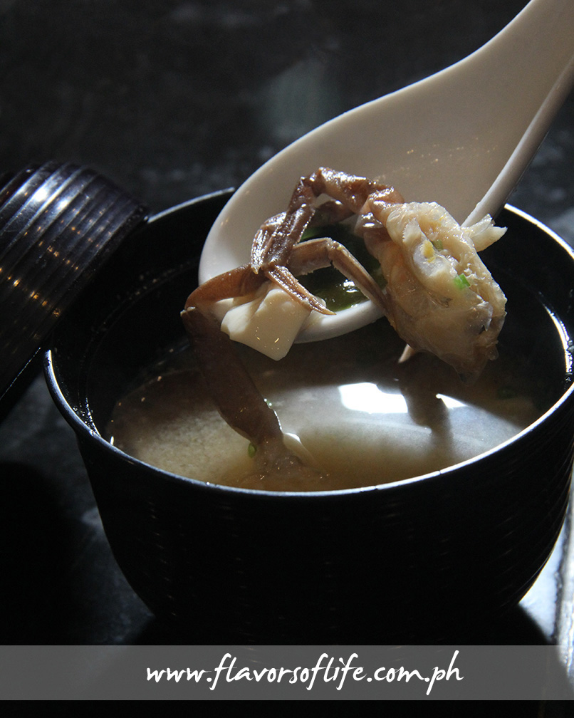 Soft-shell Crab Miso Soup (Ogetsu Hime)