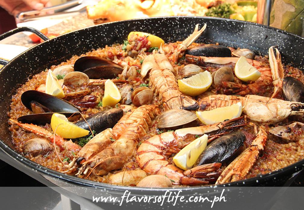 Paella de Marisco (Seafood Paella)