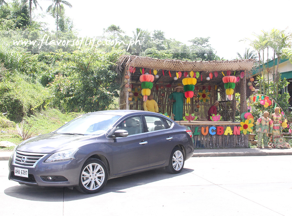 The Nissan Sylphy that went on a road trip to Lucban, Quezon, for the 'Pahiyas Festival'