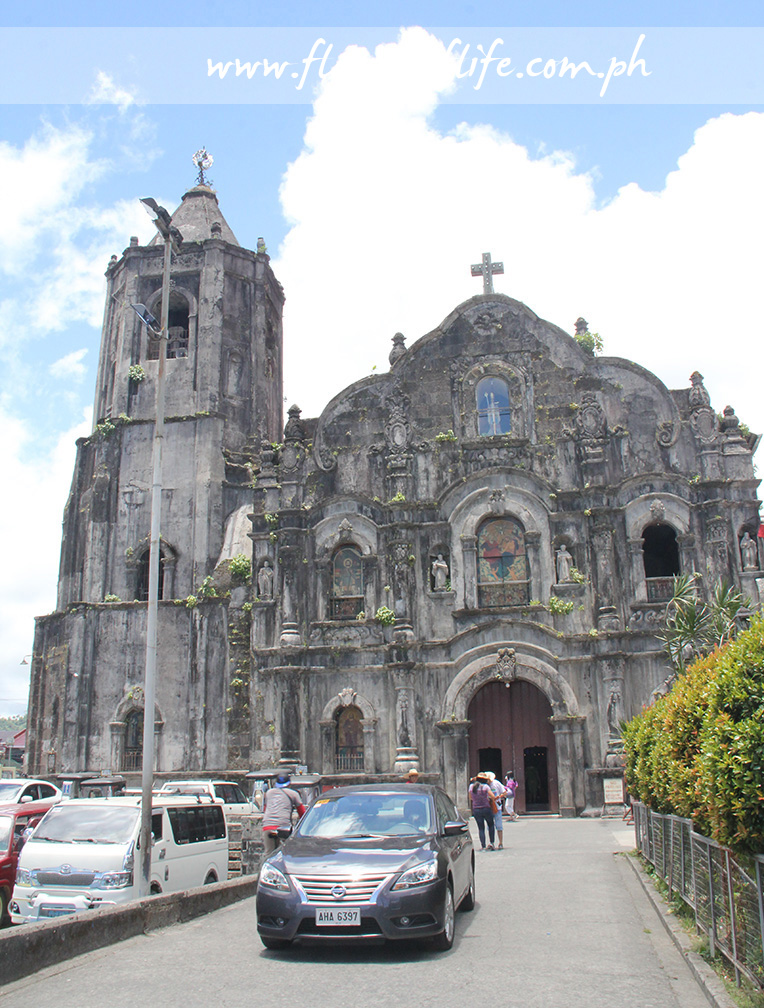 The centuries-old Church of Lucban first built in 1595